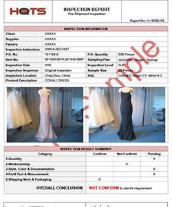 Проверка товара (платье)
