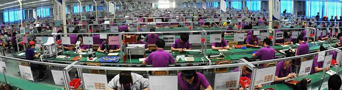заводы по производству в Китае